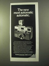 1970 Kodak Instamatic X-90 Camera Ad - $14.99