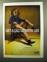 1970 Lee Fastback Flares Ad - Get a Leg Up - $14.99