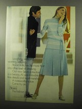 1970 Sears Fashion Ad - Laughing, Weeping, Wanting - $14.99