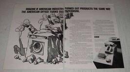 1969 IBM Desk Top Transcribing Unit Ad - $14.99