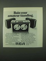 1969 RCA Ad - Ruin Your Amateur Standing - $14.99