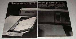 1969 Xerox Automatic Document Feeder Ad - $14.99