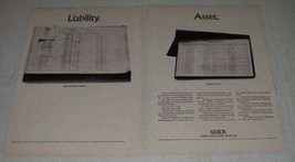 1969 Xerox Computer Forms Printer CFP Ad - Liability - $14.99