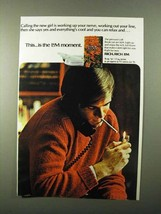 1971 L&M Cigarettes Ad - Calling The New Girl - $14.99