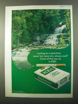 1971 Kool Cigarettes Ad - Looking for a Taste - $14.99