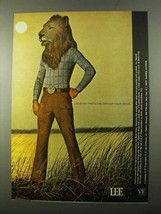 1971 Lee Bush Pants Ad - Change Your Image - $14.99