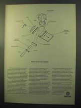 1970 Bell Labs Ad - Better Circuit Masks Exposed - $14.99
