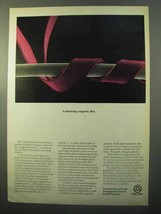 1970 Bell Labs Ad - Customizing a Magnetic Alloy - $14.99