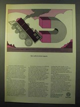 1970 Bell Labs Ad - Rare Earths for Better Magnets - $14.99
