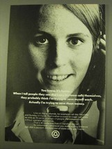 1970 Bell Long Distance Ad - You Know, It's Funny - $14.99