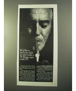 1970 Bering Cigars Ad - We'd Like To Shed Some Light On - $14.99