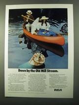 1971 RCA Environmental Improvement Program Ad - $14.99