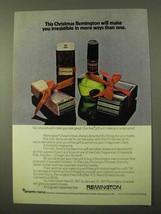 1971 Remington Shavers Ad - Make You Irresistible - $14.99