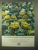 1970 GM Detroit Diesel Engines Ad - Solved Problem - $14.99