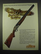 1975 Nikko Golden Eagle Shotgun Ad - Introduces An International Classic - $14.99