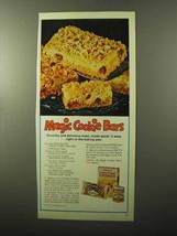 1970 Kellogg's Corn Flake Crumbs Ad - Magic Cookie Bars - $14.99