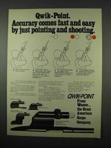 1975 Weaver Qwik-Point Sight Ad - Fast and Easy - $14.99