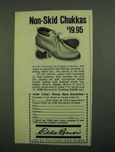 1976 Eddie Bauer Non-Skid Chukkas Ad - $19.95 - $14.99