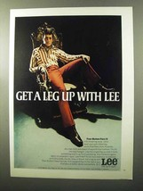 1970 Lee Four-Button Flare II Ad - Get a Leg Up With - $14.99