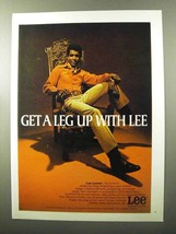1970 Lee Leens Ad - a Leg up With Lee - $14.99