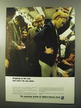 1970 Libbey-Owens-Ford Glass Ad - Stepping to the Rear - $14.99