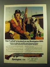 1976 Remington 1100 Shotgun Ad - Jim Catfish Hunter - $14.99
