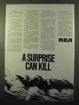 1970 RCA Ad - ITOS Weather Satellites - $14.99