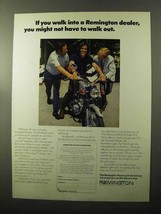 1970 Remington Shaver Ad - If You Walk Into a Dealer - $14.99
