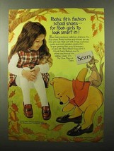1970 Sears Winnie-the-Pooh Shoes Ad - Girls Look Smart - $14.99