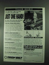 1994 Troy-Bilt Tiller Ad - Just One Hand - $14.99