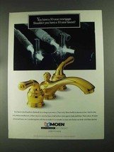 1994 Moen Faucets Ad - Have 30-year Mortgage - $14.99