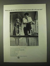 1971 AT&T Long Distance Ad - Heart to Heart Talk - $14.99