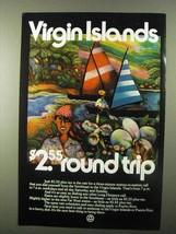 1971 Bell Long Distance Ad - Virgin Islands - $14.99