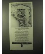 1971 Bering Cigars Ad - Come a Long Way Since Cuba - $14.99
