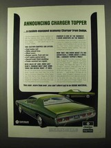 1971 Dodge Charger Topper Ad - Announcing - $14.99