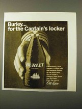 1971 Old Spice Burley Cologne Ad - Captain's Locker - $14.99