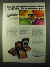 1971 RCA Quad 8 Tape Cartridge Ad - Sound Around You - $14.99