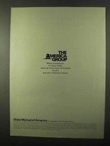 1971 State Mutual of America Ad - The America Group - $14.99