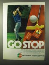 1971 Sun-Maid Raisins Ad - Go Stop - $14.99