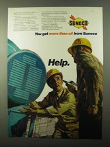 1971 Sunoco Oil Ad - You Get More Than Oil From - $14.99