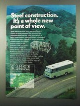 1971 Superior Motor Homes Ad - Steel Construction - $14.99