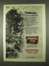 1974 Eagle Claw Trailmaster Pack Rods Ad - Dreams - $14.99