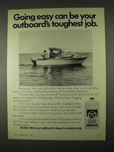 1974 Quaker State Motor Oil Ad - Outboard's Job - $14.99