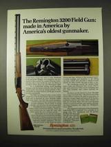 1974 Remington 3200 Field Gun Ad - America's Oldest - $14.99
