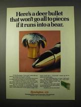 1974 Remington Core-Lokt Bullets Ad - A Deer Bullet - $14.99