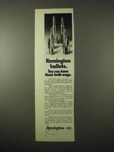 1974 Remington Bullets Ad - Have Them Both Ways - $14.99