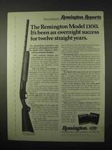 1974 Remington Model 1100 Shotgun Ad - Success - $14.99