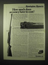 1974 Remington Model 788 Rifle Ad - How Much Accuracy - $14.99