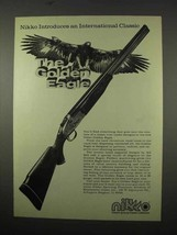 1975 Nikko Golden Eagle Shotgun Ad - Classic - $14.99