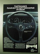 1976 Ford Granada S Car Ad - in German - $14.99